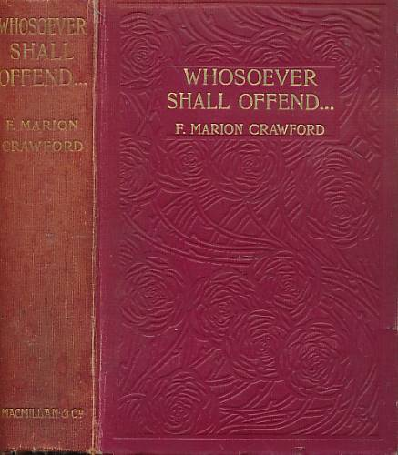 CRAWFORD, FRANCIS MARION - Whosoever Shall Offend . .
