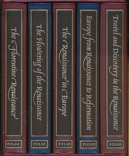 CRONIN, VINCENT, HALE, J R, PENROSE, BOISE, ELTON G R - The Story of the Renaissance. Five Volumes