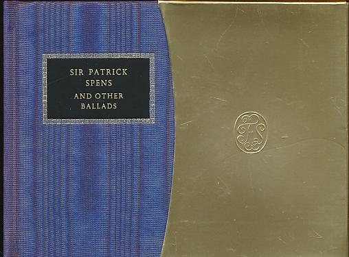 LYDBURY, JANE [ILLUS] - Sir Patrick Spens & Other Ballads