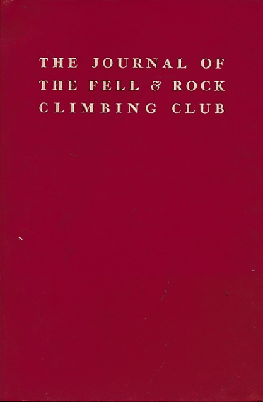 STEVENS, W G [ED.] - The Journal of the Fell & Rock Climbing Club of the English Lake District. No 49. (Volume 17 No 2) 1955