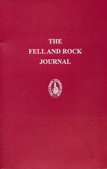 CRAM, A G [ED.] - The Journal of the Fell & Rock Climbing Club of the English Lake District. No 68. (Volume 23 No. 3) 1983