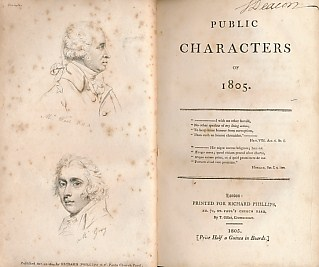 EDITOR - Public Characters of 1805