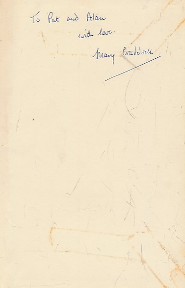 CRADDOCK, MARY - Return to Rainton. Signed Copy