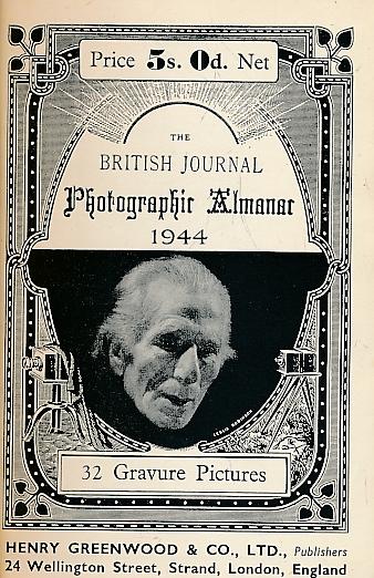 DALLADAY, ARTHUR J [ED.] - The British Journal Photographic Almanac 1944