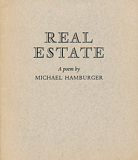 HAMBURGER, MICHAEL - Real Estate. Signed Limited Edition