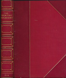 EDITOR - The Sporting Repository Containing Horse-Racing, Hunting,Coursing, Shooting, Archery, Trotting and Tandem Matches, Cocking, Pedestrianism,... Interspersed with Essays, Tales and a Great Variety of Miscellaneous Articles. Limited Edition