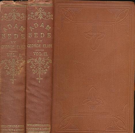 ELIOT, GEORGE [EVANS, MARY ANN] - Adam Bede. Two Volume Set. Blackwood Edition