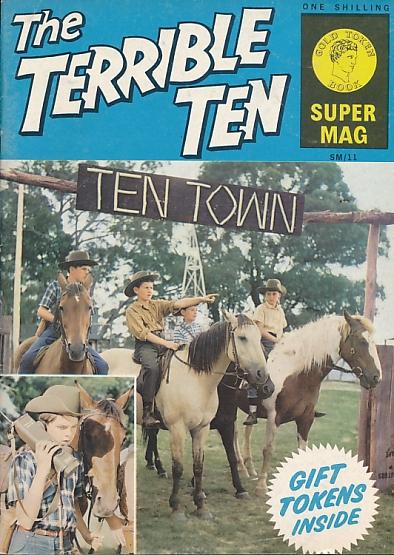 [KNIGHT, MALLORY T] - Terrible Ten. Ten Town. Gold Token Book No. 11