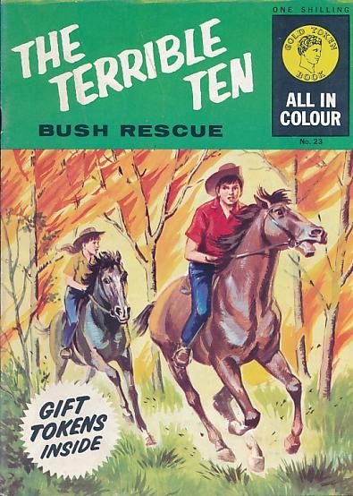 [KNIGHT, MALLORY T] - Terrible Ten. Bush Rescue. Gold Token Book No. 23