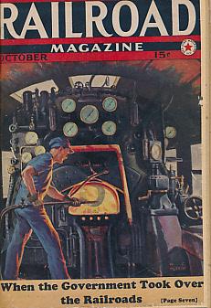 EDITOR - Railroad Magazine. October 1938. Vol XXXIV, No 5