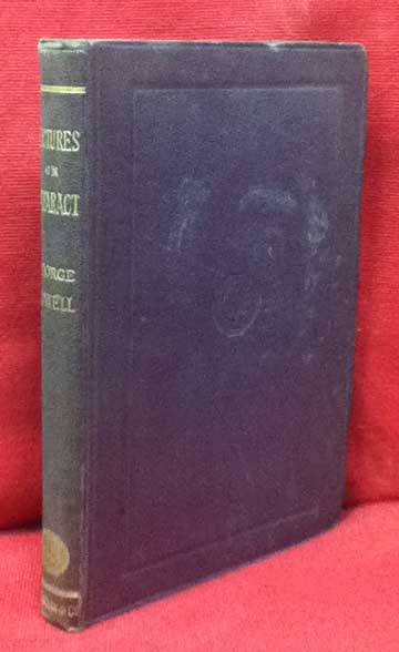 COWELL, GEORGE - Lectures on Cataract; Its Causes, Varieties, and Treatment
