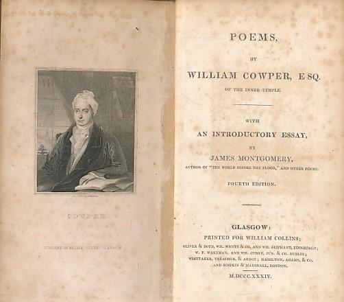 COWPER, WILLIAM - Cowper's Poetical Works
