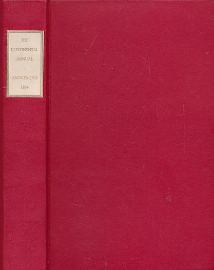 [KENNEDY, WILLIAM] [ED.] - The Continental Annual