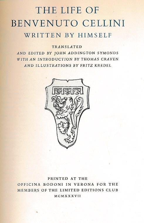 Benvenuto Cellini Biography