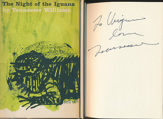 a literary analysis of night of the iguana by tennessee williams Williams wrote: this is a play about love in its purest terms it is also williams's robust and persuasive plea for endurance and resistance in this is the first trade paperback edition of the night of the iguana and comes with an introduction by award-winning playwright doug wright, the author's.