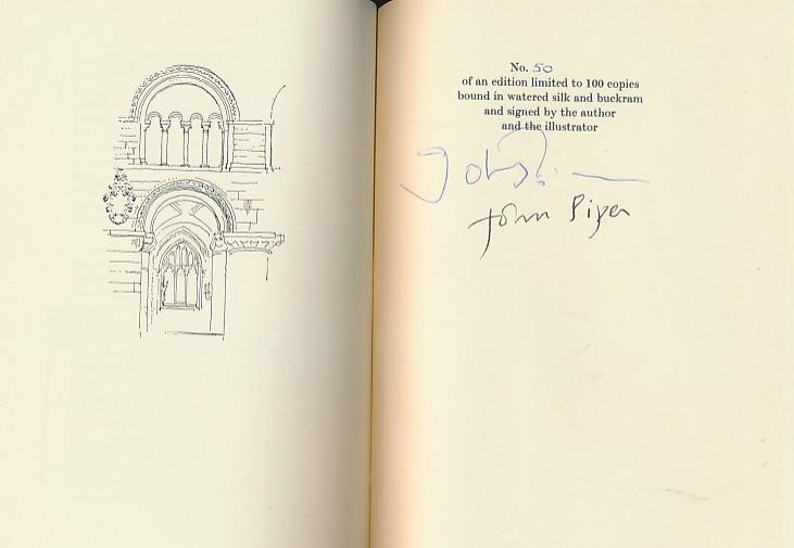 John Betjeman signature