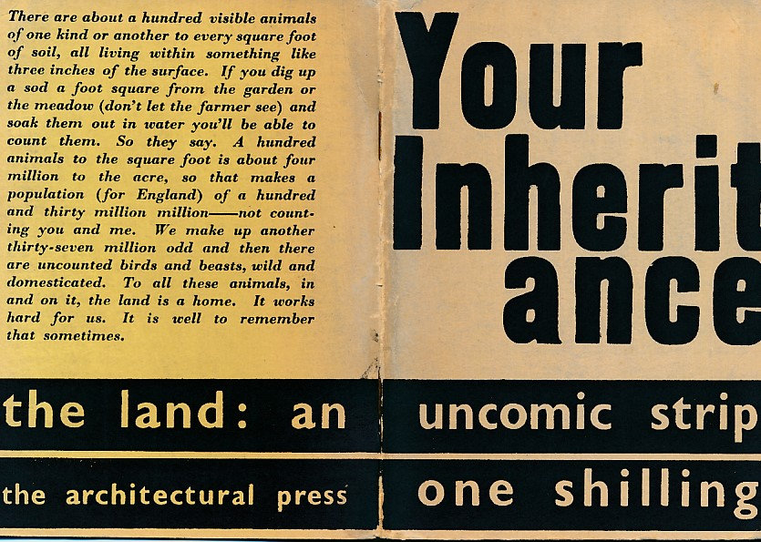 [THE ARCHITECTURAL REVIEW] - Your Inheritance. The Land. An Uncomic-Strip