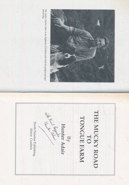 ADAIR, HUNTER - A Guide to the Countryside. Wild Animals and Birds
