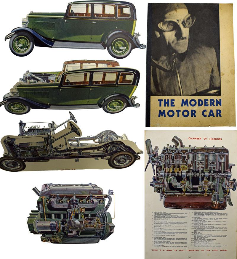 SHELL-MEX B P LTD - The Modern Motor Car