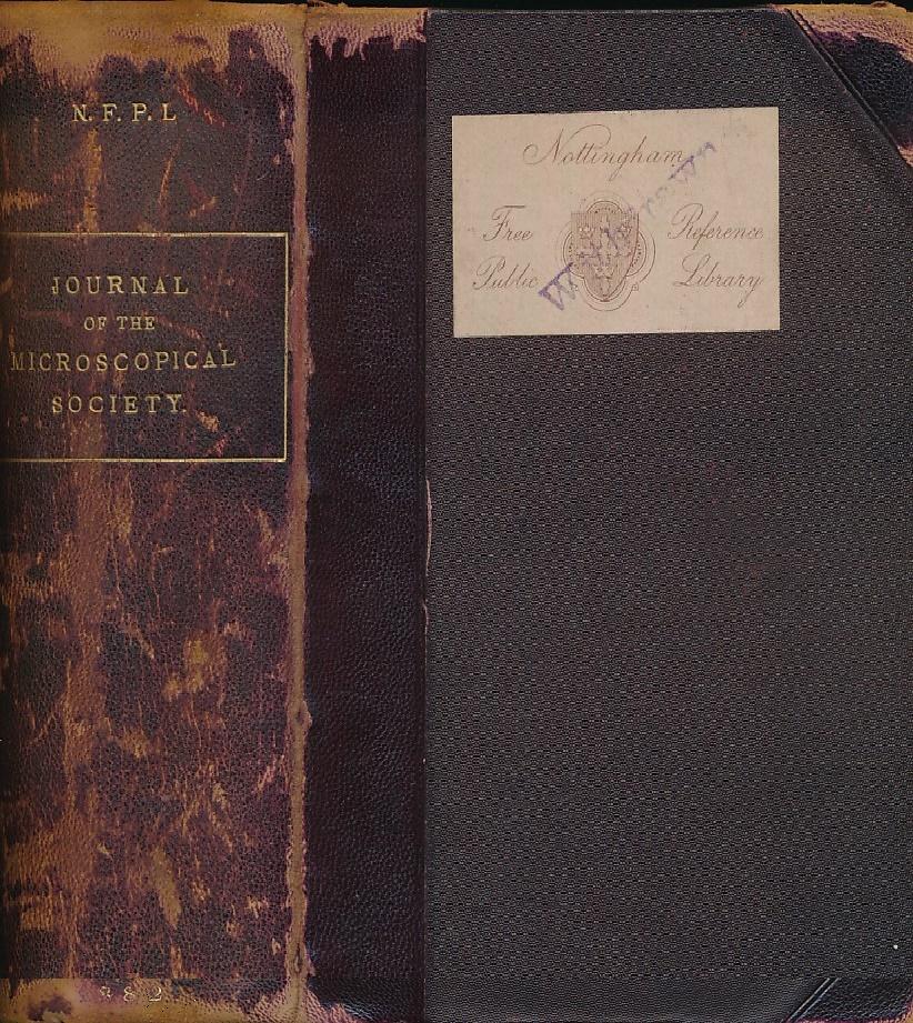 CRISP, FRANK - Journal of the Microscopical Society. Series II, Volume III