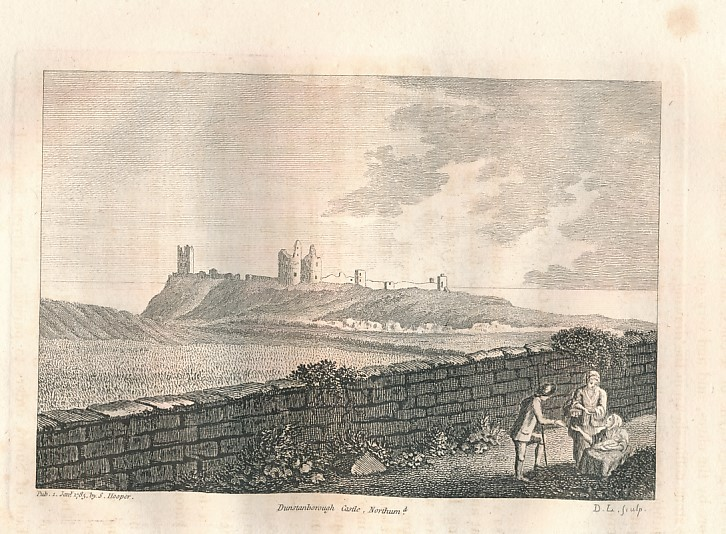 GROSE, FRANCIS - The Antiquities of England and Wales. Northumberland [Extract from Volume 4]