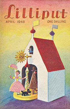LILIPUT; PRITCHETT, V S - Lilliput (Issue 130). April 1948. (with V S Pritchett's Short Story 'Double Divan')