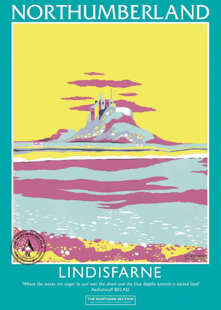 THE NORTHERN SECTION - Lindisfarne Poster