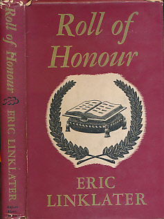 LINKLATER, ERIC - Roll of Honour