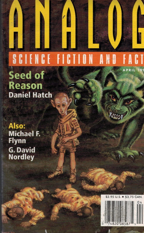 SCHNIDT, STANLEY [ED.] - Analog. Science Fiction and Fact. Volume 119, No. 4. April 1999
