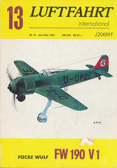 EDITOR - Luftfahrt International. 1976 Nr. 13 Jan-Febr