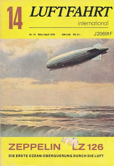 EDITOR - Luftfahrt International. 1976 Nr. 14 Marz-April
