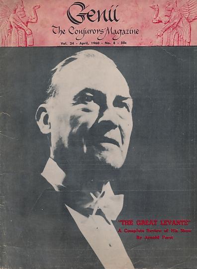 LARSEN, WILLIAM [ED.] - Genii: The Conjurors' Magazine. Volume 24. No. 8. April 1960
