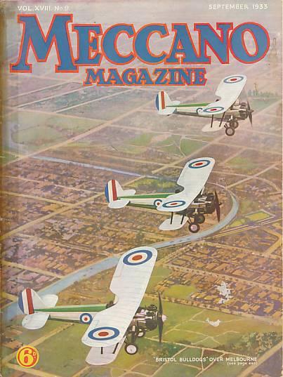 THE EDITOR - Meccano Magazine. September 1933