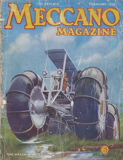 THE EDITOR - Meccano Magazine. February 1938