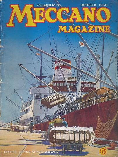 THE EDITOR - Meccano Magazine. October 1938