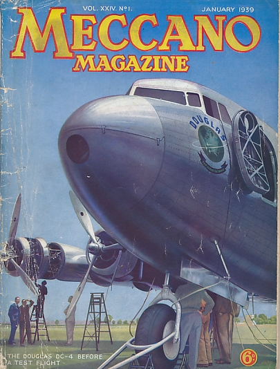 THE EDITOR - Meccano Magazine. January 1939