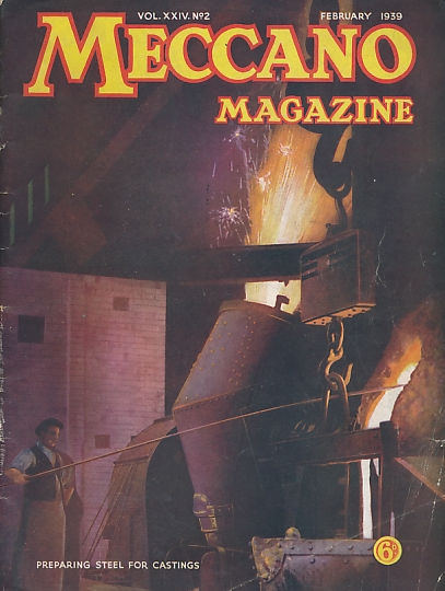 THE EDITOR - Meccano Magazine. February 1939