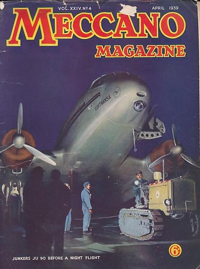 THE EDITOR - Meccano Magazine. April 1939