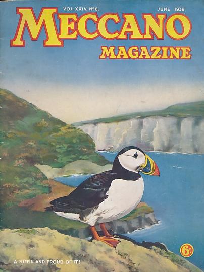THE EDITOR - Meccano Magazine. June 1939
