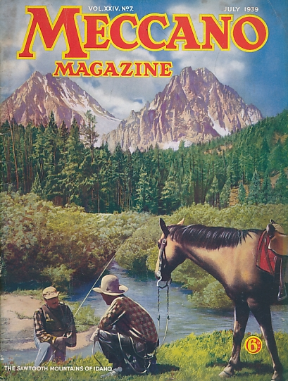 THE EDITOR - Meccano Magazine. July 1939