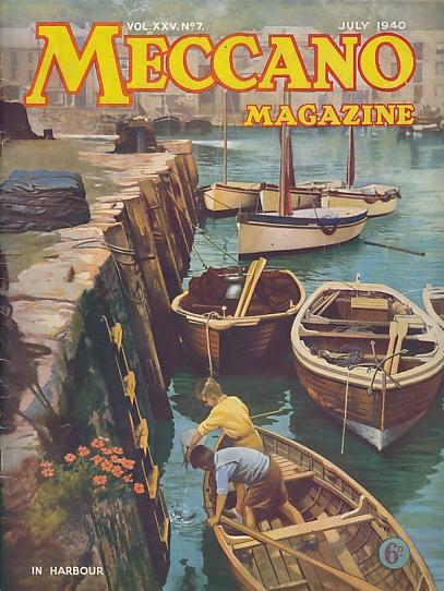 THE EDITOR - Meccano Magazine, July 1940