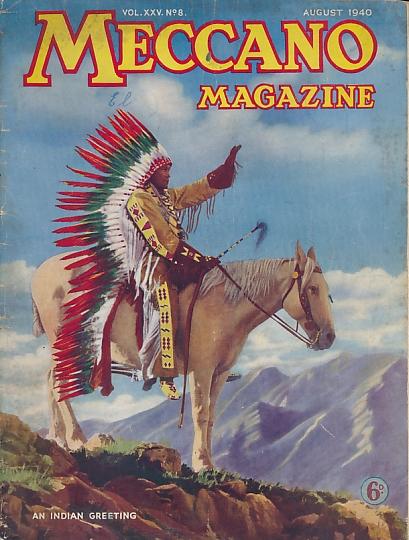 THE EDITOR - Meccano Magazine. August 1940