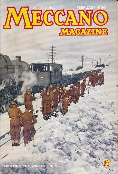 THE EDITOR - Meccano Magazine. February 1950