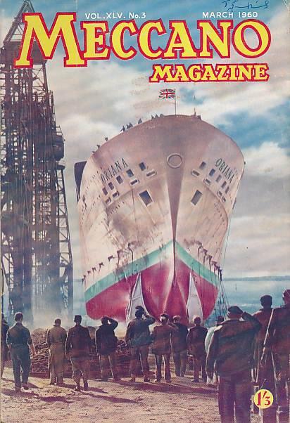 THE EDITOR - Meccano Magazine. March 1950