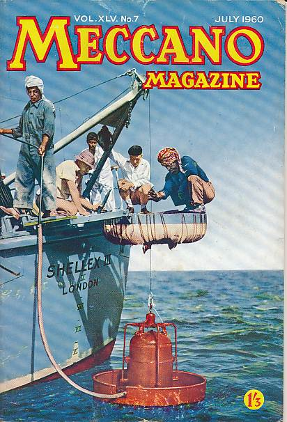 THE EDITOR - Meccano Magazine. July 1950