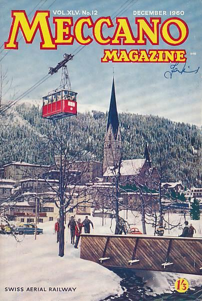 THE EDITOR - Meccano Magazine. December 1950