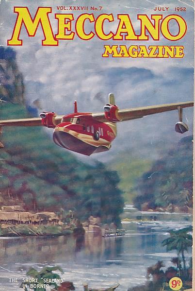 THE EDITOR - Meccano Magazine. July 1952