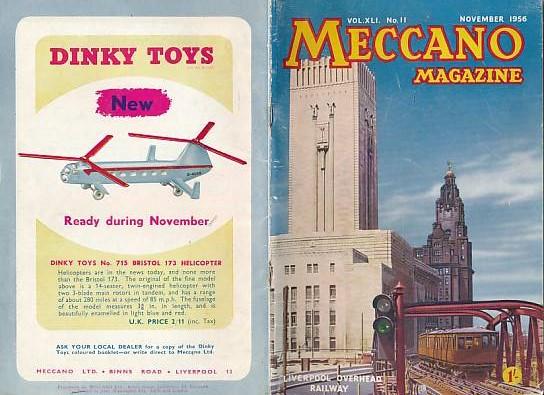 THE EDITOR - Meccano Magazine. November 1956
