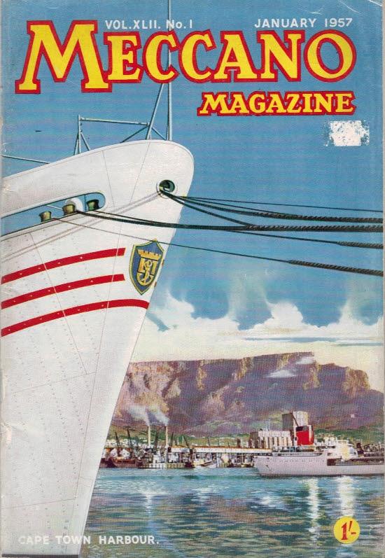 THE EDITOR - Meccano Magazine. January 1957
