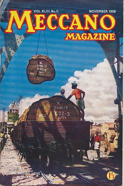 THE EDITOR - Meccano Magazine. November 1958